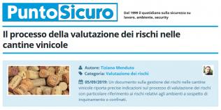 PuntoSicuro - Il processo della valutazione dei rischi nelle cantine vinicole