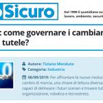 PuntoSicuro - Industria 4.0: come governare i cambiamenti e migliorare le tutele?