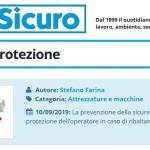 PuntoSicuro - Alza l'arco di protezione