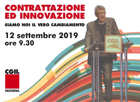 contrattazione_innovazione Landini Modena, 12.9.19