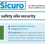 PuntoSicuro - Come unire la safety alla security
