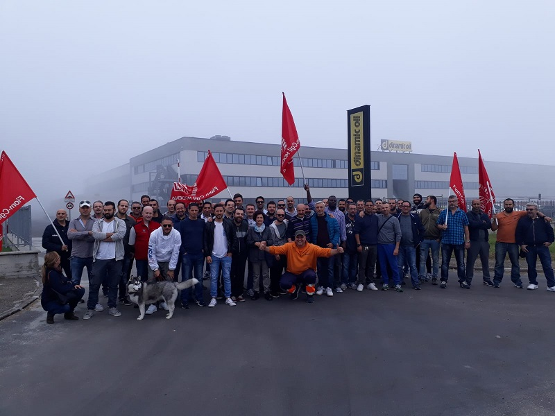 Dinamic Oil Bomporto sciopero, 27.9.19