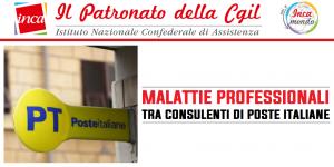 Patronato Inca Nazionale - Malattie professionali tra consulenti di Poste Italiane