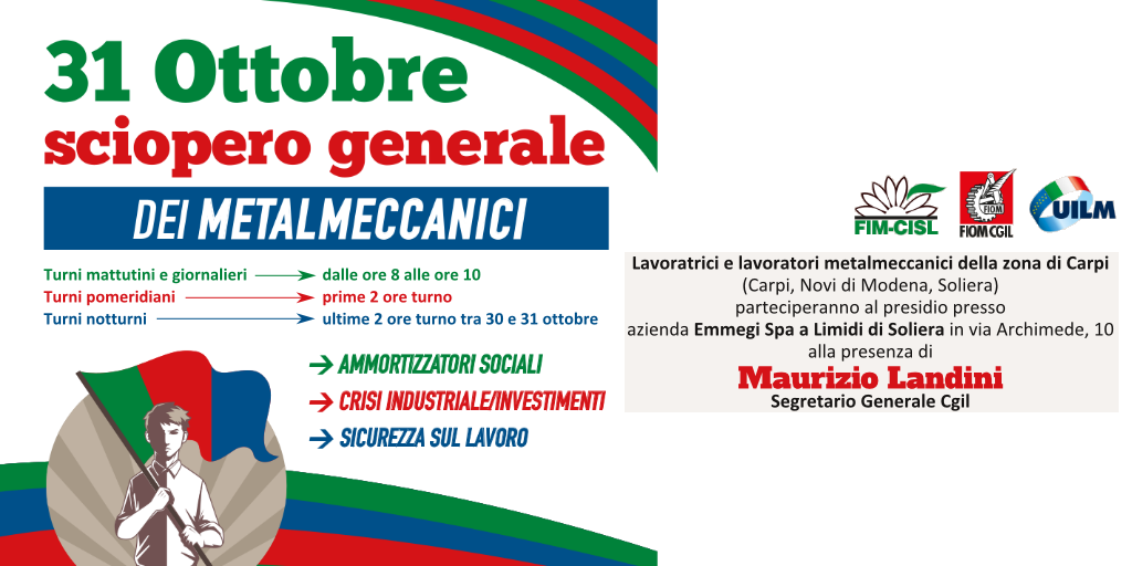 Presidio Emmegi - Partecipa Landini 31 ottobre 2019