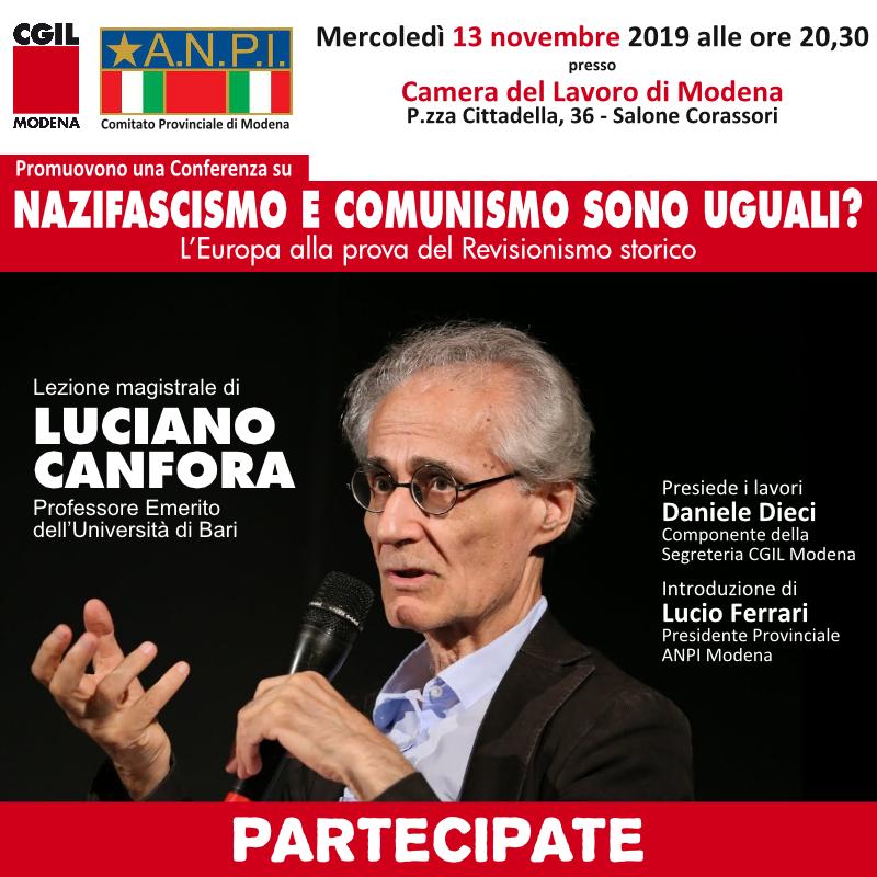 lezione_magistrale_Luciano_Canfora_nazifascismo_e_comunismo_sono_uguali