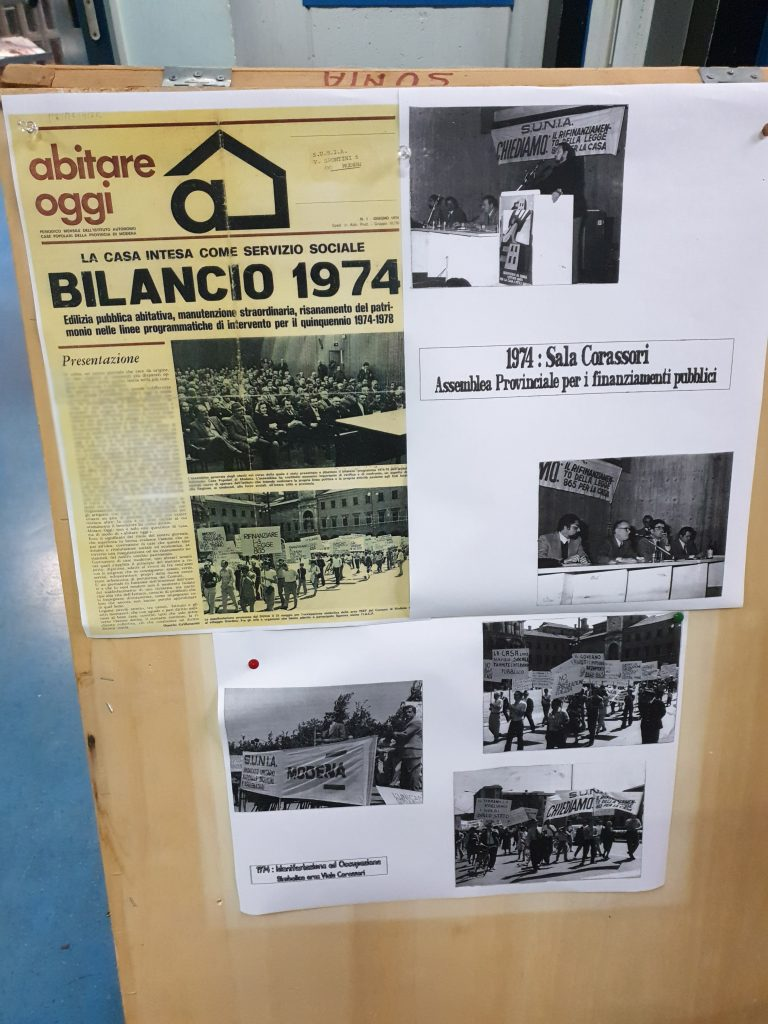 50^ anniversario sciopero casa, 19.11.19