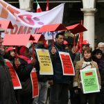 sciopero casa Sunia 12.3.2010