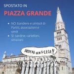 Modena non si lega PIAZZA GRANDE 2019-11-18
