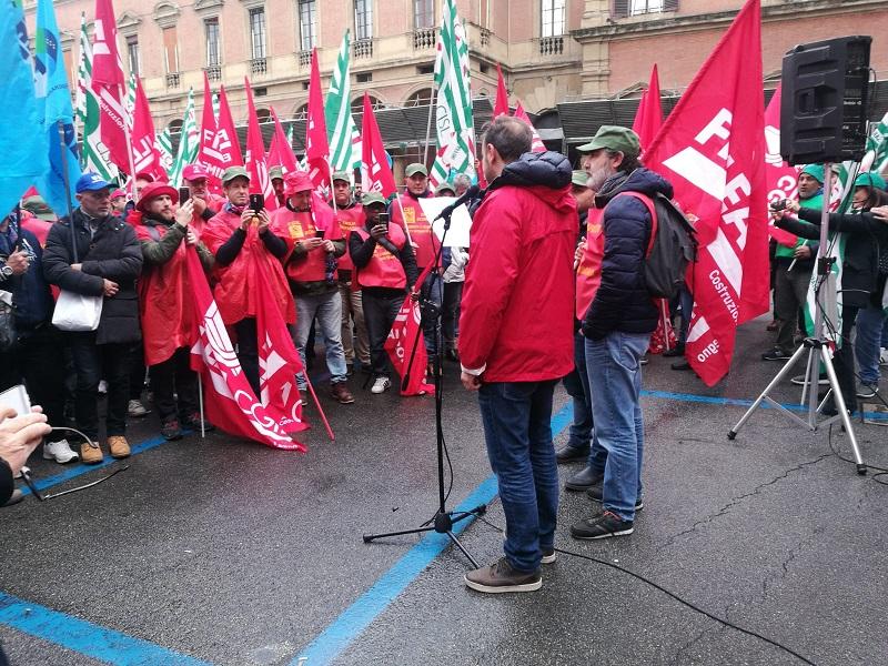 manifestazione edili 15.11.19