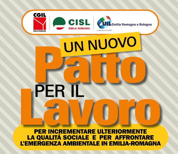 Un nuovo Patto per il Lavoro, 28.11.19 Bologna