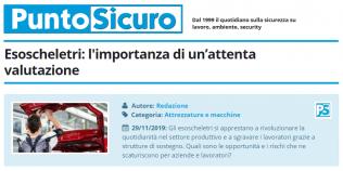 PuntoSicuro - Esoscheletri: l'importanza di un'attenta valutazione