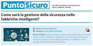 PuntoSicuro - Come sarà la gestione della sicurezza nelle fabbriche intelligenti?
