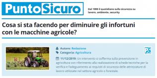 PuntoSicuro - Cosa si sta facendo per diminuire gli infortuni con le macchine agricole?
