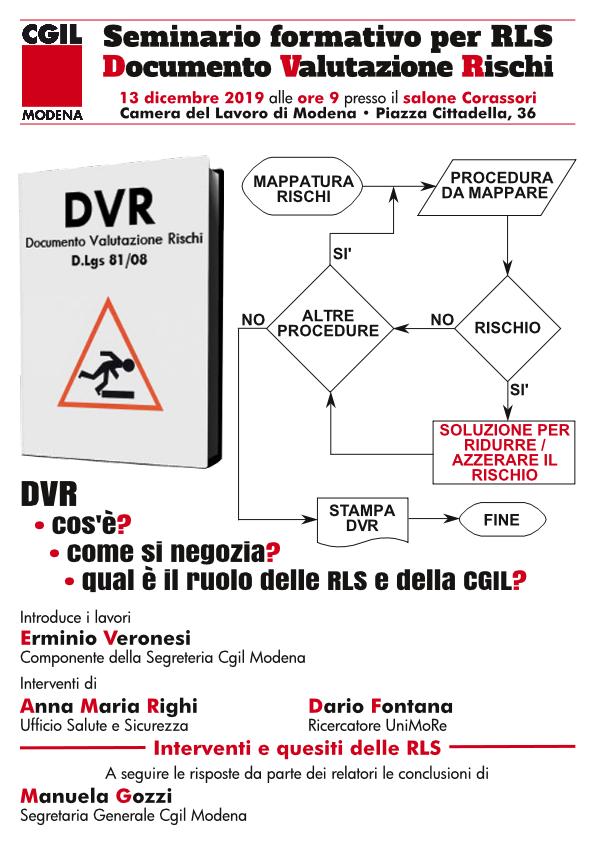 seminario_formativo_rls documentazione valutazione rischi