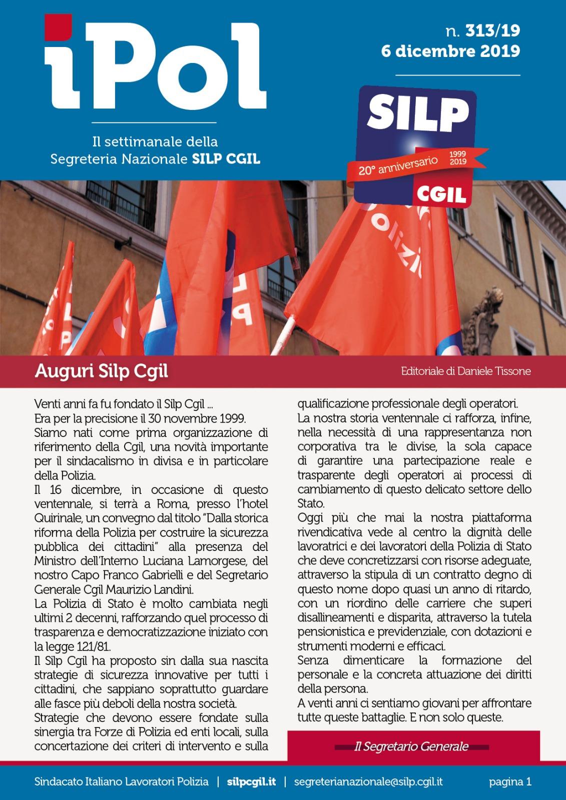 IPOL settimanle Silp 6.12.19