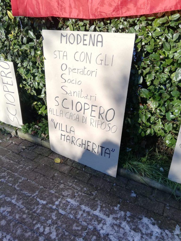 sciopero Villa Margherita 14.12.19