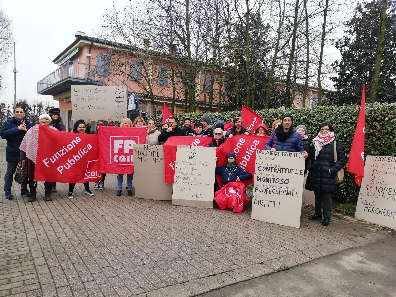 villa margherita 17.12.19 sciopero