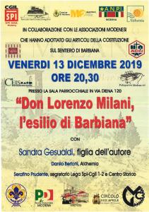 don Lorenzo Milano Spi, 13.12 VOL