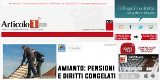 Radioarticolo1 - Amianto: pensioni e diritti congelati