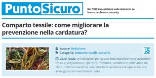PuntoSicuro - Comparto tessile: come migliorare la prevenzione nella cardatura?