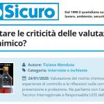 PuntoSicuro - Come affrontare le criticità delle valutazioni del rischio chimico?