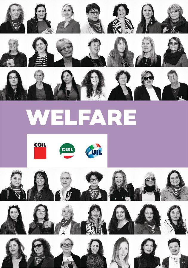 le donne e i valori di cgil cisl uil welfare