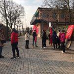 Villa Margherita sciopero 24.1.20