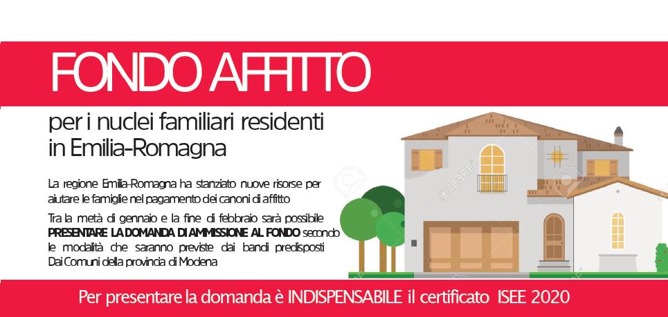 Fondo affitto Regione Emilia Romagna