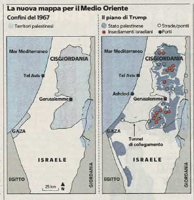 palestina piano Trump (Repubblica) 30.1.20