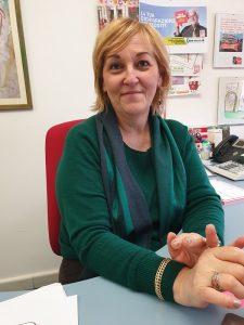 Daniela Bondi, presidente Caf Cgil