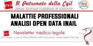 Patronato Inca Cgil nazionale - Malattie professionali: analisi Open Data INAIL
