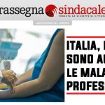 Rassegna Sindacale - Italia, nel 2019 sono aumentate le malattie professionali