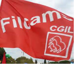 bandiera Filcams Cgil