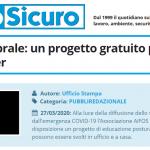 PuntoSicuro - Igiene vertebrale: un progetto gratuito per gli smart worker