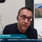 Coronavirus Erminio Veronesi intervista TRC 14.3.20