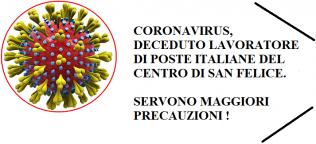 coronavirus decesso Poste