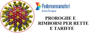 coronavirus proroga rette e tariffe Federconsumatori