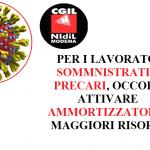 coronavirus somministrati e precari NIDIL