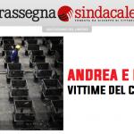 Rassegna Sindacale - Per Andrea e Massimo, vittime del coronavirus