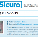 PuntoSicuro - Smart working e Covid-19