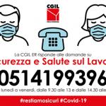 Numero campagna ascolto Cgil ER