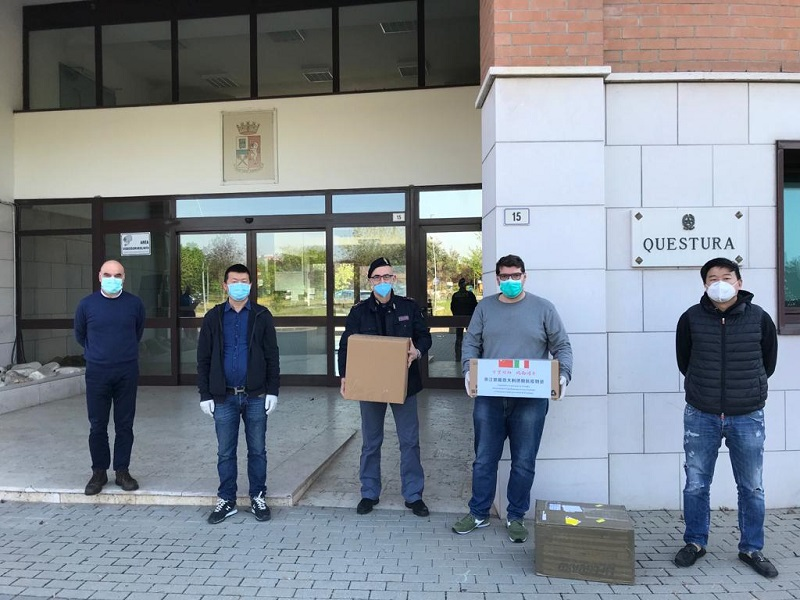 mascherine e gel PS Modena