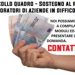 Emergenza Coronavirus - Protocollo Quadro - Sostegno al reddito dei lavoratori di aziende in difficoltà