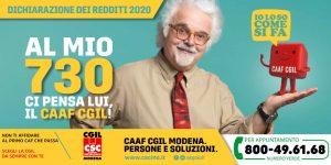 Csc - Caaf Cgil Modena - Campagna fiscale 2020