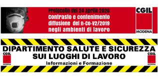 Protocollo del 24 aprile 2020 - Contrasto e contenimento diffusione del n-Co-V2/2019 negli ambienti di lavoro