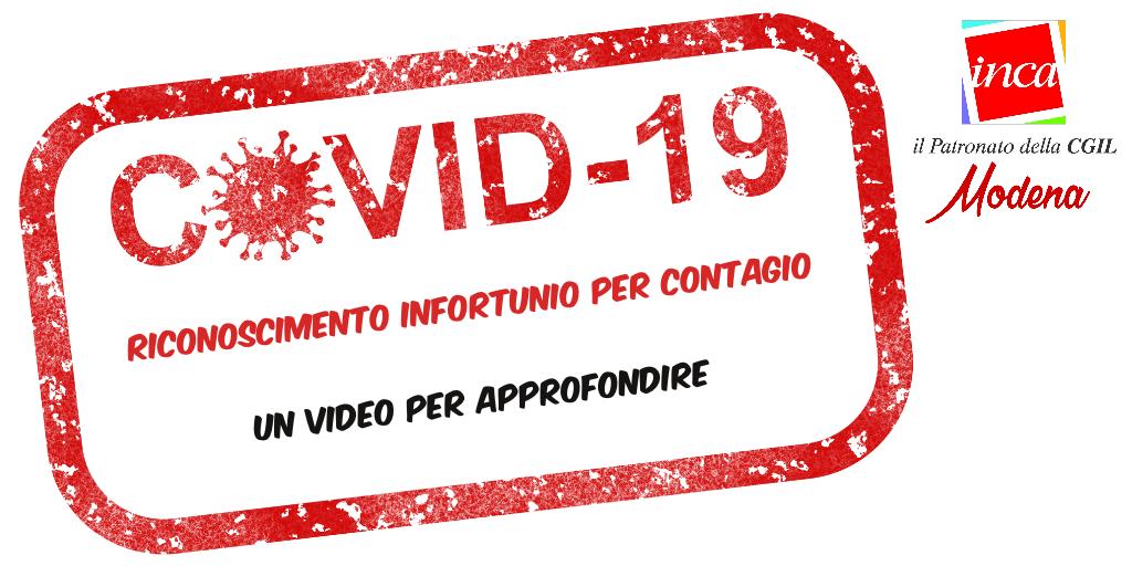 Inca Cgil Modena - Pillole Inca: danni Salute - Riconoscimento infortunio per contagio Covid-19