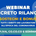 Webinar Nidil Decreto Rilancio: sostegno e bonus partite iva, co.co.co, somministrati - 26 maggio 2020