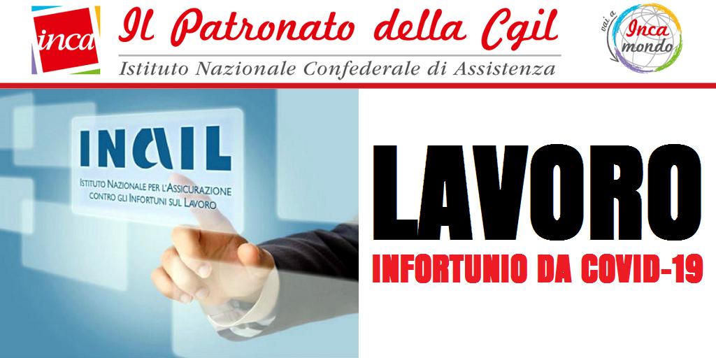 Patronato Inca Cgil Nazionale - Lavoro: Infortunio da Covid-19