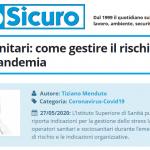 PuntoSicuro - Operatori sanitari: come gestire il rischio stress durante la pandemia
