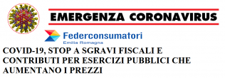 coronavirus Federconsumatori stop a contributi esercizi aumento prezzi